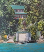 Crib at Marlborough Sounds....